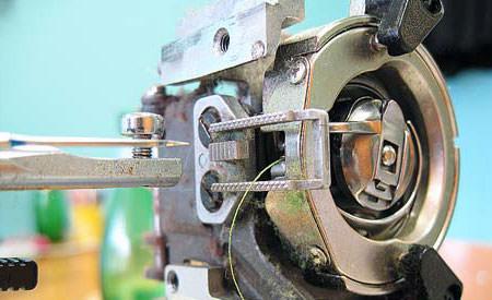 Швейные машинки ремонт своими руками
